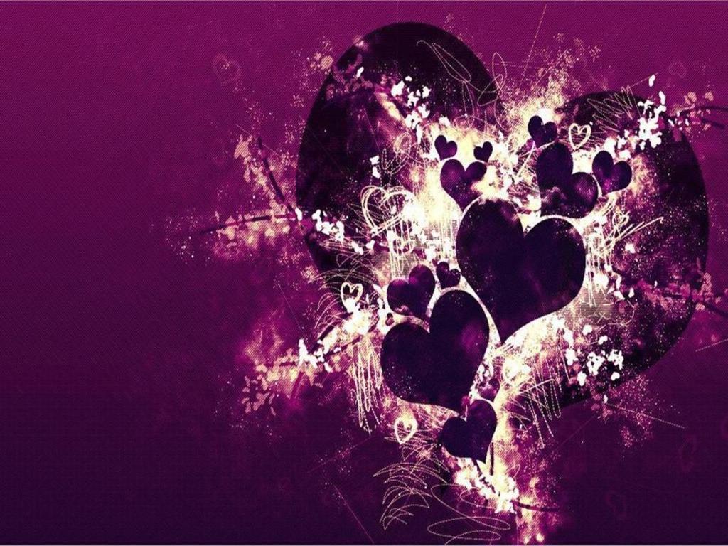 Emo love violet